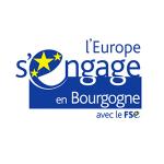 Logo L'Europe s'engage en Bourgogne