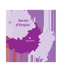 Carte Bassin d'emploi