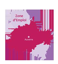 Carte Zone d'emploi