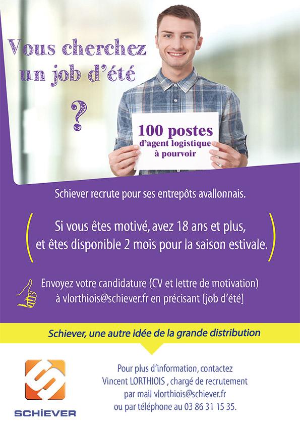 vous cherchez un job d u2019 u00e9t u00e9   schiever recrute