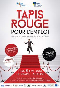 Affiche Tapis Rouge 2018 PLIE