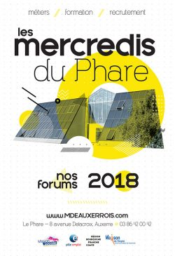 Affiche Mercredis du Phare 2018